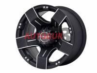 Диск колесный литой MAXIM черный 5x139.7 8xR15 d108.2 ET-27 PDW